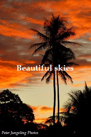 Beautiful Skies, by me
